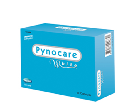 00029 : Mega We care Pynocare White - 20 capsule