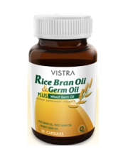 00208: Vistra Rice Bran Oil 30 เม็ด